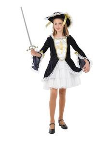 Costume de mousquetaire fille