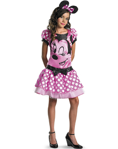 Costume de Minnie Mouse Clubhouse rose pour fille