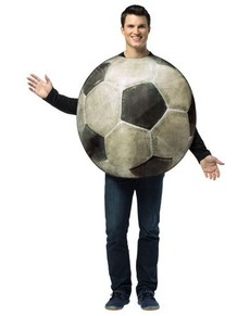 costume de ballon de football