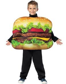 Costume hamburger pour enfant