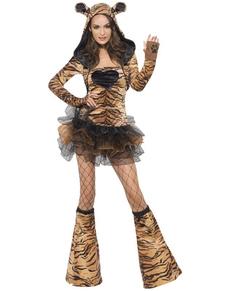Déguisement de tigre sexy Fever