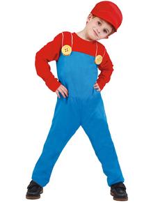 Déguisement de mécanicien de train Mario pour enfant