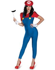 Costume de Mario Bros pour femme