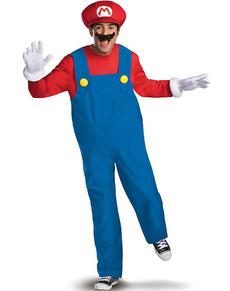 Costume de Mario Bros prestige pour adulte