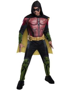 Costume Robin Batman Arkham Franchise musclé pour homme