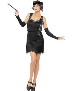 Costume charleston années 20 pour femme