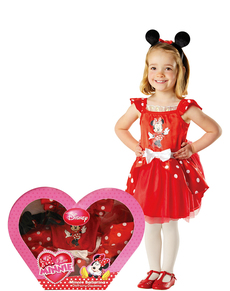 Costume Minnie Mouse danseuse fille (Boîte-vitrine)