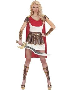 Déguisement romaine guerrière femme