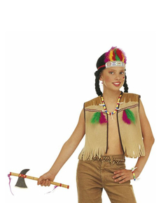 Kit costume indienne enfant
