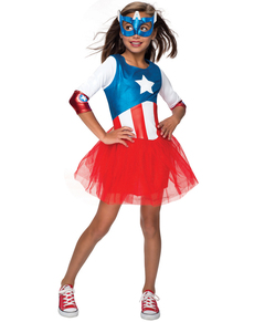 Costume American Dream Marvel fille