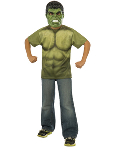 Kit costume Hulk Avengers: L'Ère d'Ultron enfant