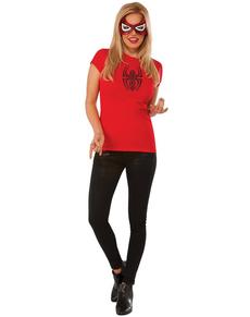 Kit Costume Spidergirl Marvel femme