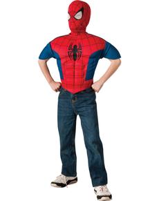 Kit costume Spiderman musclé garçon