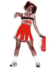 Déguisement pom-pom girl zombie femme