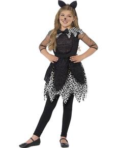 Déguisement chat à la mode fille