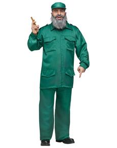 Déguisement Fidel cubain