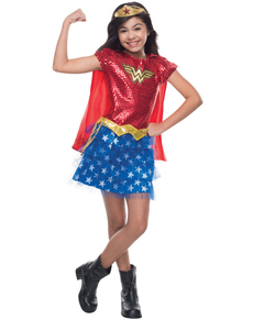 Costume Wonder Woman DC Comics fille