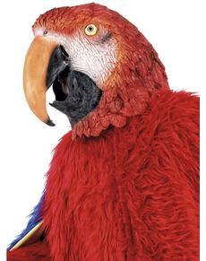 Masque perroquet deluxe