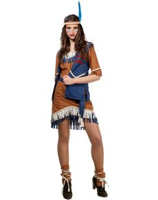 Déguisement d'Indienne Cherokee pour femme