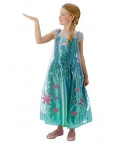 Costume elsa La Reine des Neiges- Une fête givrée fille