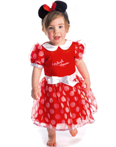 Costume Minnie Mousse coquette bébé