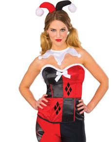 Corset Harley Quinn femme