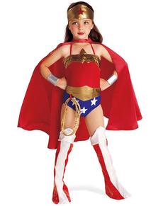Costume Wonder Woman fille