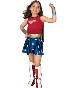 Costume de Wonder Woman Classic fille