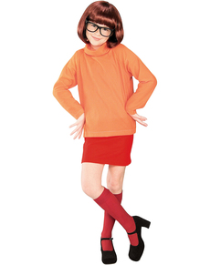 Costume de Véra Scooby-Doo pour fille